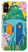 Blue Door Fairy House IPhone Case