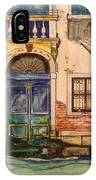 Blue Door Venice IPhone Case