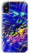 Blue Eddy IPhone Case