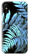 Blue Fern IPhone Case
