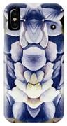 Blue Flower King IPhone Case