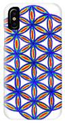 Blue Flower Of Life IPhone Case