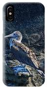 Blue-footed Booby Prize IPhone Case
