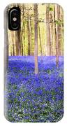 Blue Forest In Shadow IPhone Case