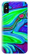 Blue Green Frog IPhone Case