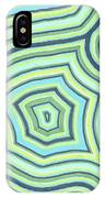 Blue Green Pattern Play IPhone Case