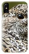 Blue Grouse Hen 2 IPhone Case
