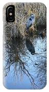 Blue Heron. IPhone Case