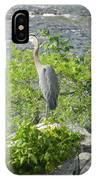 Blue Herring Bird  IPhone Case