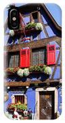 Blue House # I IPhone Case