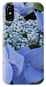 Blue Hydrangea Buds IPhone Case