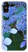 Blue Hydrangea Flowers Floral Art Baslee Troutman IPhone Case