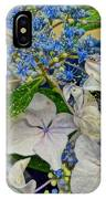 Blue Hydrangeas IPhone Case
