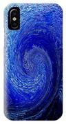Blue Ice Twirl-2 IPhone Case
