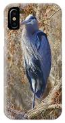 Blue In The Moss IPhone Case
