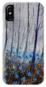 Blue In The Wood IPhone Case