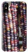 Blue Indian Corn IPhone Case