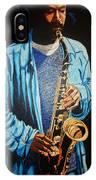 Blue Jazz IPhone Case