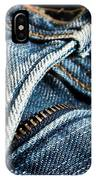 Blue Jeans IPhone X Case