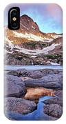 Blue Lake Sunrise IPhone Case