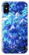 Blue Autumn  IPhone Case