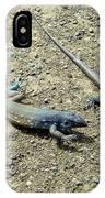 Blue Lizards IPhone Case