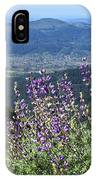 D3b6377-blue Lupine And Kenwood  IPhone Case
