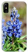 Blue Lupines IPhone Case
