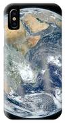 Blue Marble 2012 - Eastern Hemisphere Of Earth IPhone Case