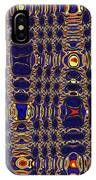 Blue Moon Abstract IPhone Case