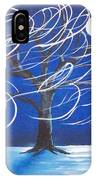 Blue Moon Willow In The Wind IPhone Case