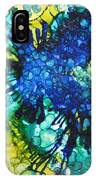 Blue Moth IPhone Case