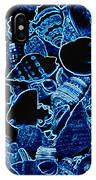 Blue Neon Shells IPhone Case