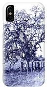 Blue Oak IPhone Case