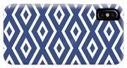 Blue Pattern IPhone Case