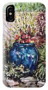 Blue Planter IPhone Case
