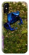 Blue Poison Arrow Frog IPhone Case
