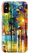 Blue Refelctions IPhone Case