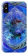 Blue Reflextions IPhone Case