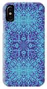 Blue Resonance IPhone Case