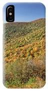 Blue Ridge Mountains In Autumn IPhone Case