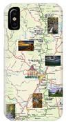 Blue Ridge Parkway In North Carolina IPhone Case