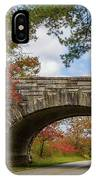 Blue Ridge Parkway Stone Arch Bridge IPhone Case