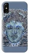 Blue Self Portrait IPhone Case