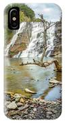 Blue Skies Over Ithaca Falls IPhone Case