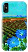 Blue Sky Smiling IPhone Case