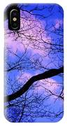 Blue Sky Through The Trees IPhone Case