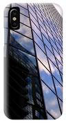 Blue Skyscrapper With A Blue Sky In New Orleans Louisiana IPhone Case