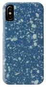 Blue Speckle IPhone Case