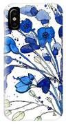 Blue Spray IPhone Case
